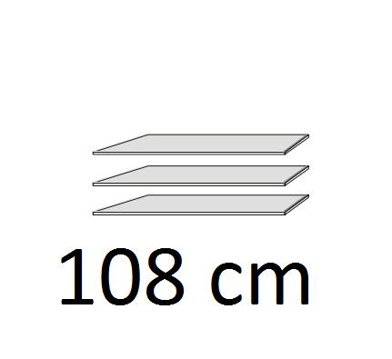 WNND92 polc szett/270,220/