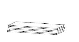 DMRD82 3db-os Polc szett