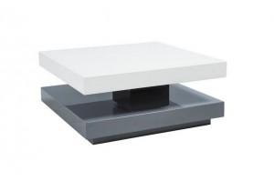 Falon dohányzóasztal Fehér-Szürke